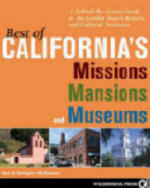 Cover of Best of California's Missions Mansions and Museums award-winning travel books